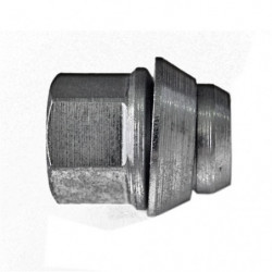 wheel nut for cooper wheel less s/steel cover