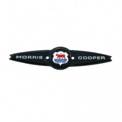 badge morris cooper rear mk2