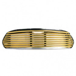 grille gold anodised version of ala6668 wide slat grille