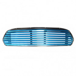grille blue anodised wide slat for internal bonnet release
