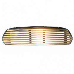 grille gold anodised wide slat for internal bonnet lock