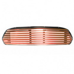 grille red anodised wide slat grille for internal release
