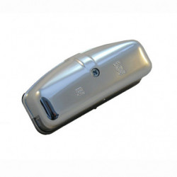 number plate chrome plastic rear lamp