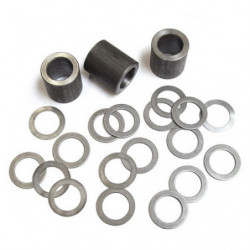 rocker spacer kit with spacers and shims