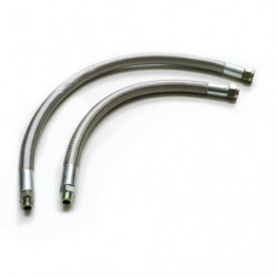 oil cooler braided pipe clubman hose kit or long mini