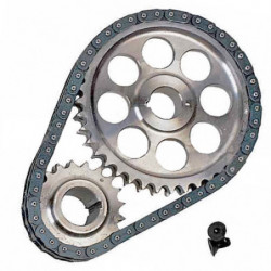 duplex chain and steel gears lightened set.