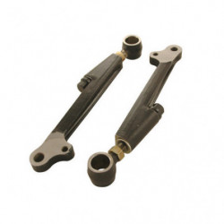 lower arms, on car adjustable