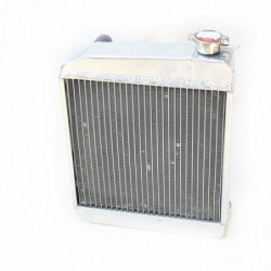 radiator 2 core alloy - side fitting type
