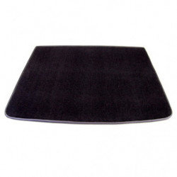 boot board black carpeted, twin tanks 5,5 gallon