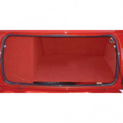 carpet full boot liner kit in red 7.5 gallon tank
