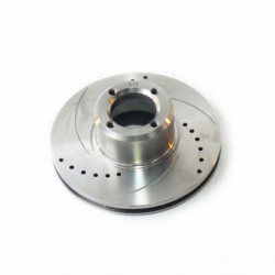 """brake disc 8.4""""vented pair drilled and grooved"""
