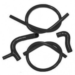 silicone hose kit 1275gt with longer top hose black