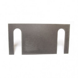 radius arm tracking stainless steel shim for standard arms