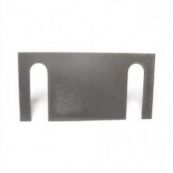 radius arm tracking shims in s/steel for ck22 box section