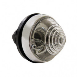 indicator & side lamp with clear glass lens for innocenti