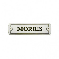 metal morris rocker cover plate