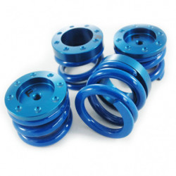 kit ressorts de suspension bleu (route/piste)