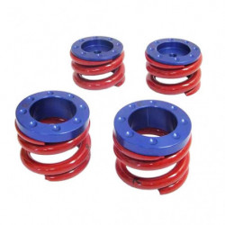 kit ressorts de suspension rouge (piste)
