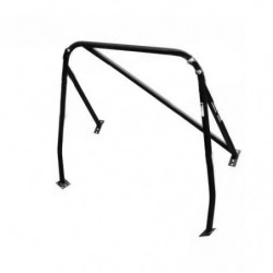 safety devices rear roll cage (removable diagonal)