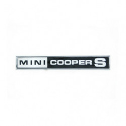 badge boot cooper s mk3