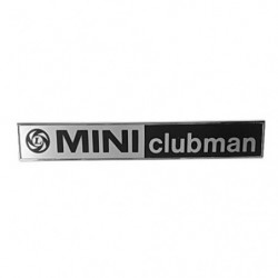 badge boot mini clubman rear badge