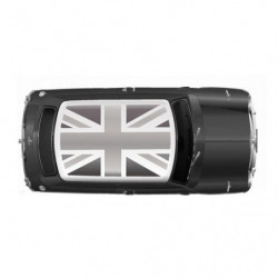 roof decal pop art union jack decal set as supplied by rove