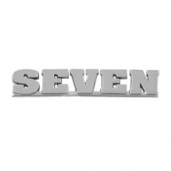 "badge "" seven "" on last twin point cars"