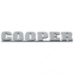"badge rear "" cooper "" for cars from 2000"
