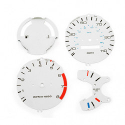 dash dial kit white 1988 on