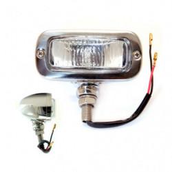 chrome reverse lamp