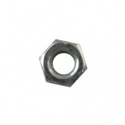 "nut 3/16"" plain unf zi0 plated"