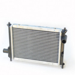 radiator unit for twin point injection cars