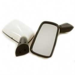 mirror pair crb10184/5 for door with white backs