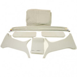 headlining and rod kit with sunvisors