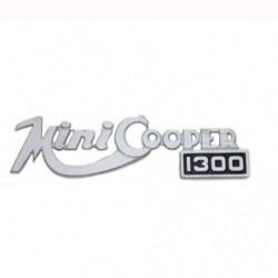 rear badge innocenti cooper