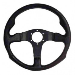 steering wheel,m range black moulded rim