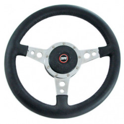 "motalita 13""flat,leather steering wheel"
