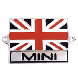 union jack with mini enamel badge
