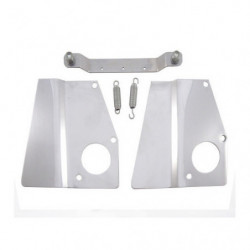 heat shield stainless steel kit hs4 twin carbs