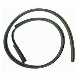 door upper window glass seal r/h genuine