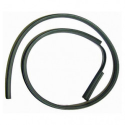 door upper window glass seal l/h genuine