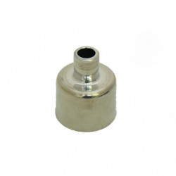 dashpot hs2 carb cover-alloy