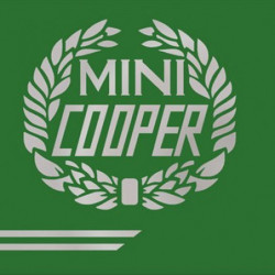 silver cooper body styling kit