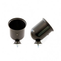 tacho pod black housing for 80mm gauge
