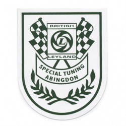 st special tuning abingdon sticker