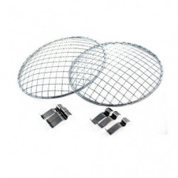 """headlamp guards 7"""" in stainless steel"""