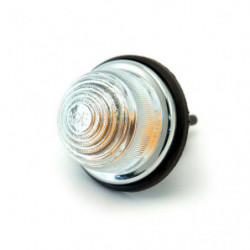 indicator & side lamp with clear glass lens