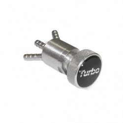 turbo in car adj boost valve silver