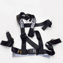 sparco seat belt 3 points (black)