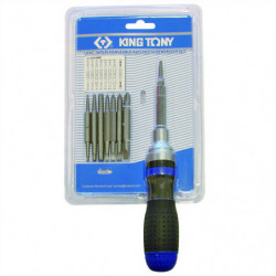 interchangable ratchet screwdriver set (8 pc)